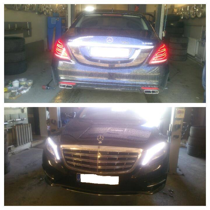 MB Maybach S600 W222