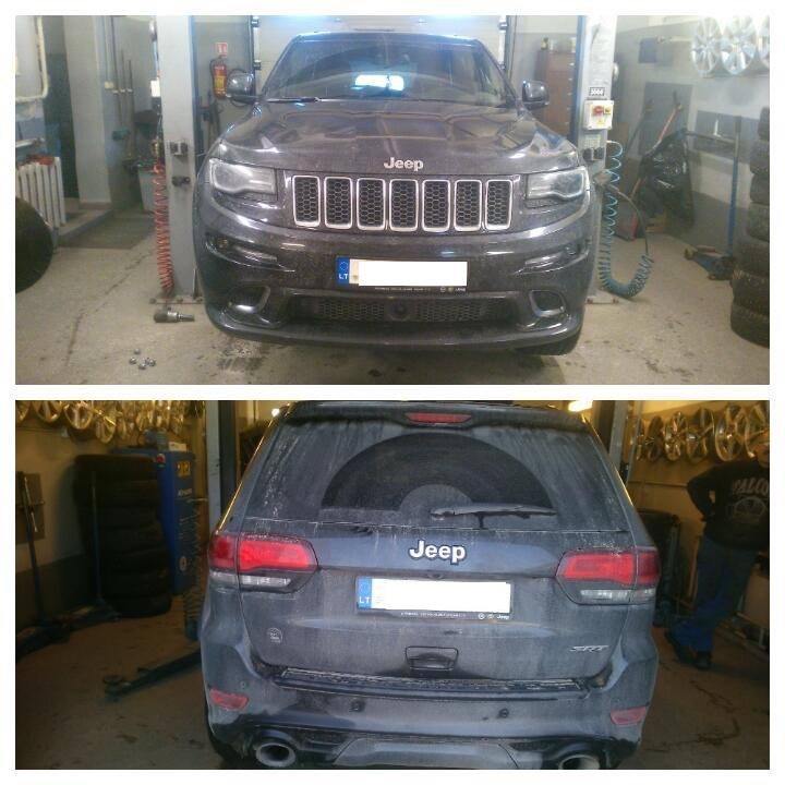 Jeep Grand Cherokee SRT8 WK2